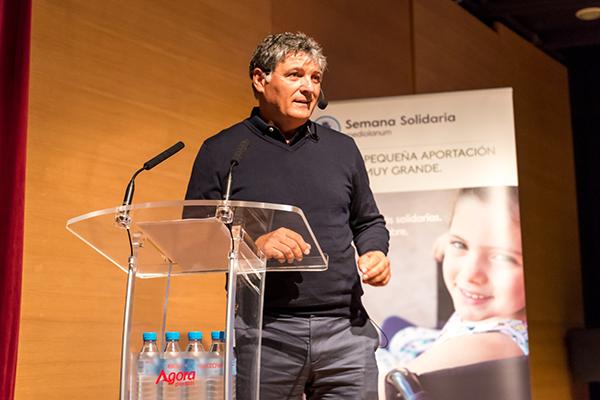 Ponencia solidaria de Toni Nadal a favor de la ONG Mallorca sense fam